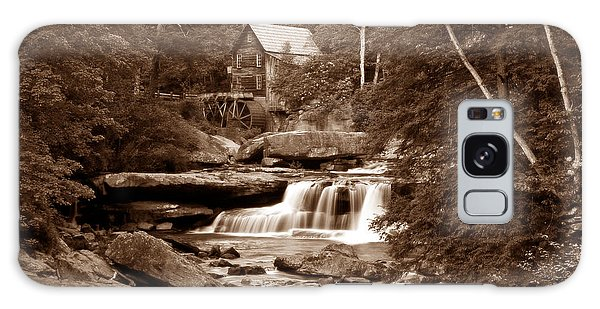 Glade Creek Mill In Sepia Galaxy Case