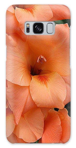 Gladiola In Peach Galaxy Case