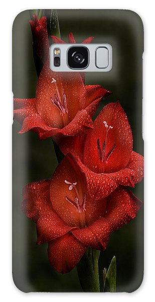 Gladiolus II  Trio Galaxy Case