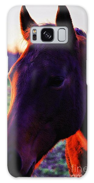 Glamour Shot Galaxy Case by Robert McCubbin
