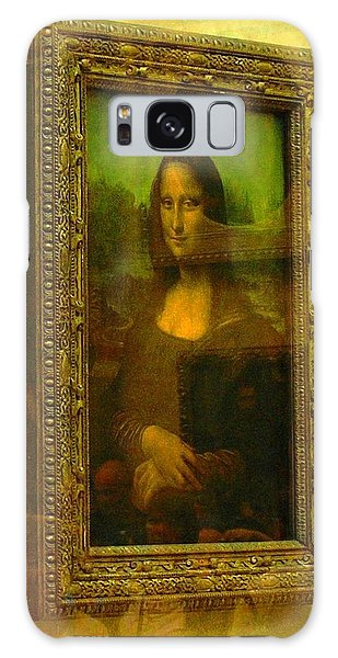 Glance At Mona Lisa Galaxy Case
