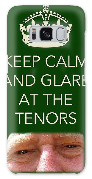 Glare At The Tenors Galaxy Case