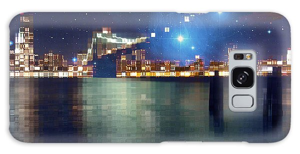 Glass Block Brooklyn Bridge Among The Stars Galaxy Case