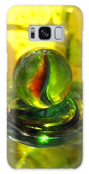 Glass Marble Still Life Galaxy Case