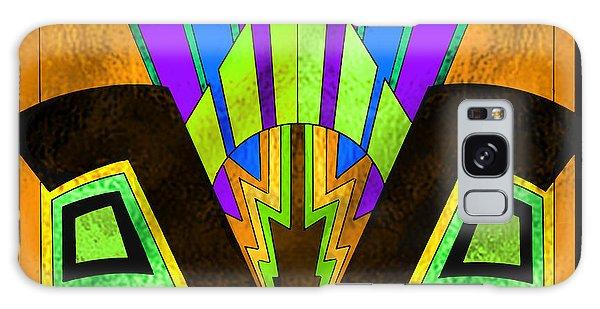 Glass Pattern 5 B Galaxy Case
