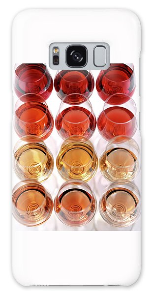 Glasses Of Rose Wine Galaxy Case