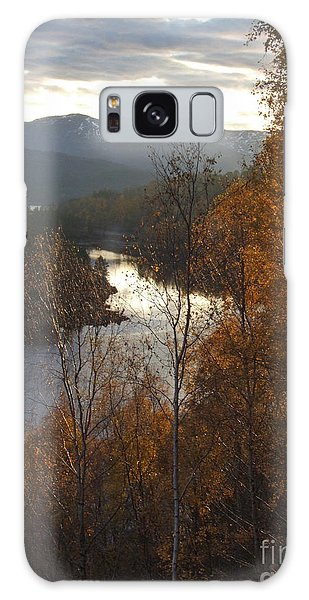 Galaxy Case - Silver And Gold - Glen Affric by Phil Banks