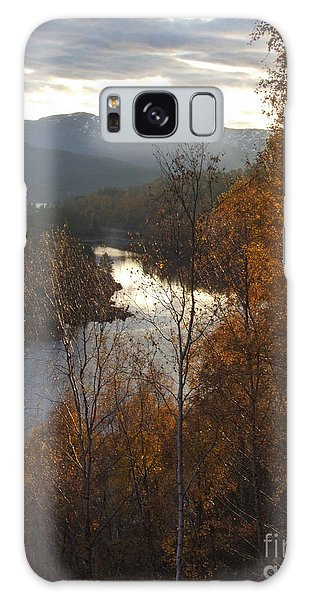 Silver And Gold - Glen Affric Galaxy Case