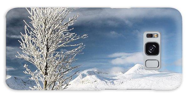 Glencoe Winter Landscape Galaxy Case