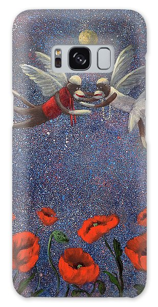 Glenda The Good Witch Has Flying Monkeys Too Galaxy Case