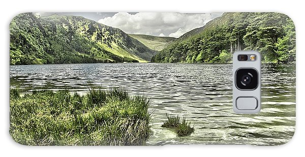 Glendalough Upper Lake Galaxy Case by Martina Fagan
