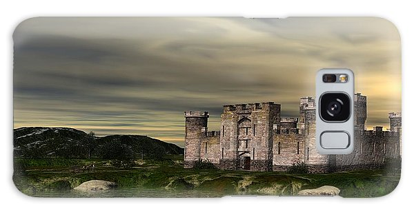 Glendor Castle Galaxy Case by John Pangia