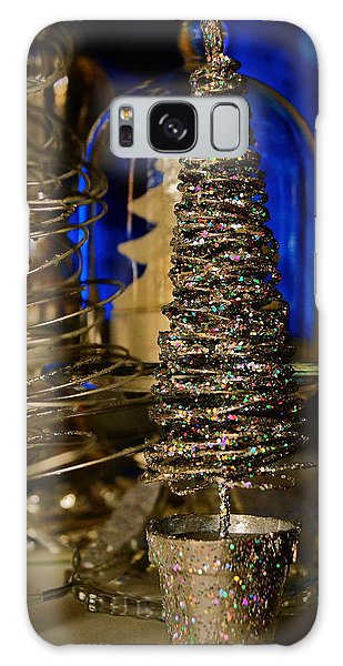 Glitter Tree - Christmas  Galaxy Case