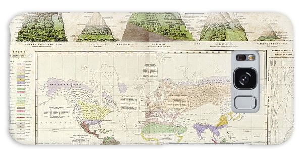 Physical Galaxy Case - Global Botanical Geography by Library Of Congress, Geography And Map Division