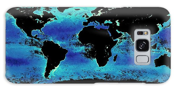 Earth From Space Galaxy Case - Global Chlorophyll Levels by Nasa Earth Observations