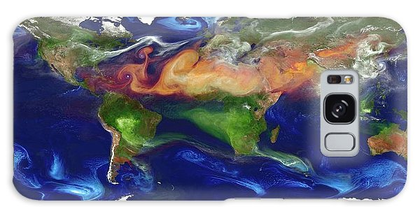 Usa Map Galaxy Case - Global Dust And Aerosol by William Putman, Nasa