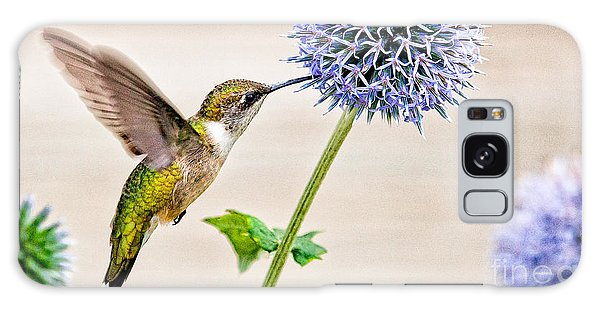 Globe Thistle Hummer Galaxy Case