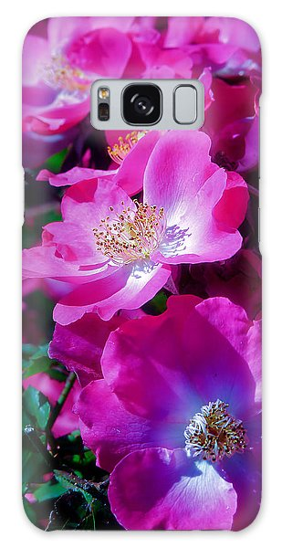 Glorious Blooms Galaxy Case