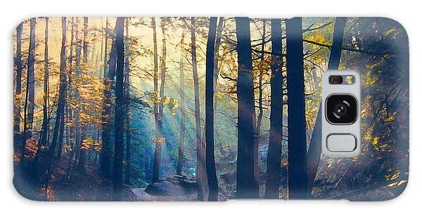 Glorious Forest Morning Galaxy Case