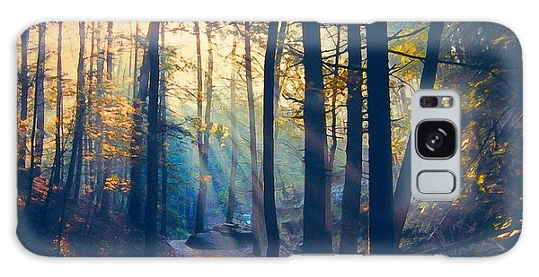Glorious Forest Morning Galaxy Case by Diane Alexander