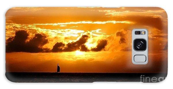 Glorious Sunset Galaxy Case