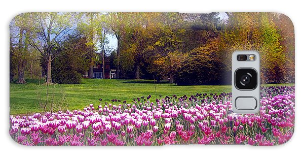 Glory Of Tulips Galaxy Case