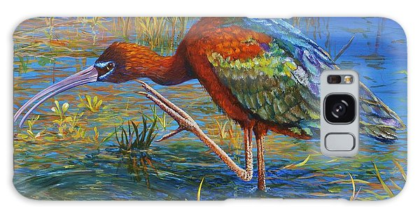 Iridescent Galaxy Case - Glossy Ibis by AnnaJo Vahle