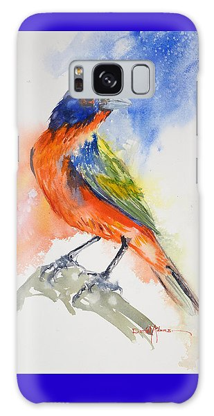 Da188 Glow Of The Painted Bunting Daniel Adams Galaxy Case