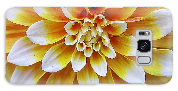 Glowing Dahlia Galaxy Case by Dora Sofia Caputo Photographic Art and Design