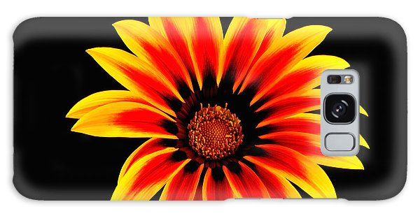 Glowing Flower Galaxy Case