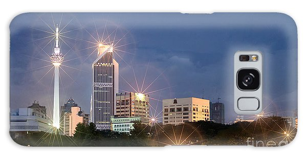 Glowing Lights Of Kuala Lumpur - Malaysia - South East Asia Galaxy Case