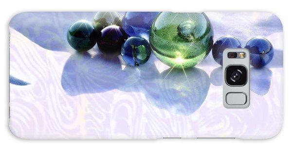 Glowing Marbles Galaxy Case by Cynthia Lagoudakis