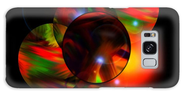 Glowing Marbles Galaxy Case by Gayle Price Thomas
