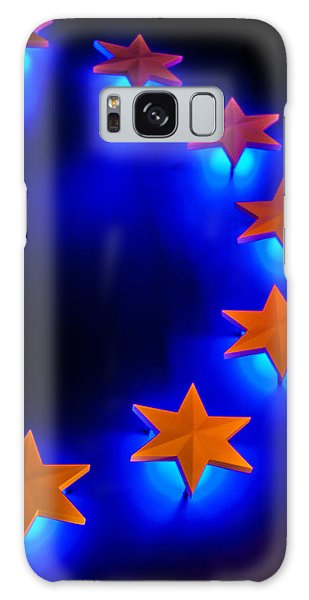 Glowing Stars Of Freedom Galaxy Case