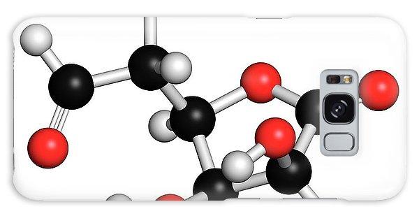 Tissue Galaxy Case - Glucuronolactone Molecule by Molekuul