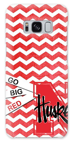 Go Big Red Galaxy Case