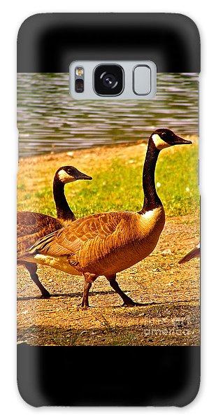 Go Geese Galaxy Case