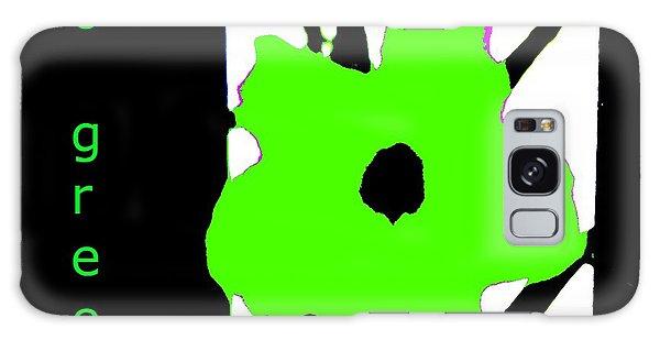 Go Green Galaxy Case