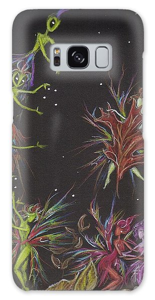 Go On Shake Hands Galaxy Case by Dawn Fairies