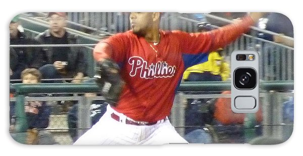 Go Phillies Galaxy Case by Jeanette Oberholtzer