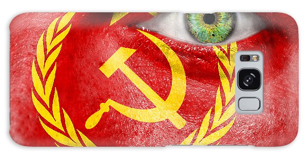 Go Ussr Galaxy Case by Semmick Photo