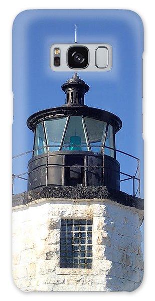 Goat Island Lighthouse Galaxy Case