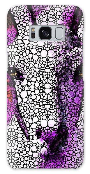 Goat - Pinky - Stone Rock'd Art By Sharon Cummings Galaxy Case