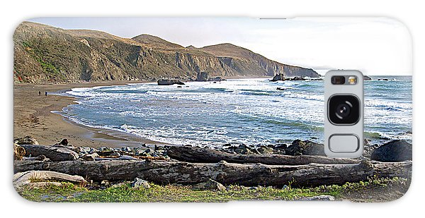 Goat Rock State Beach On The Pacific Ocean Near Outlet Of Russian River-ca  Galaxy Case