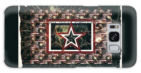 God Bless America Galaxy Case by Sherry Flaker