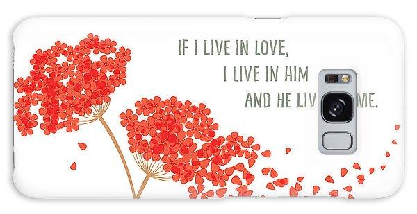 God Is Love. Galaxy Case