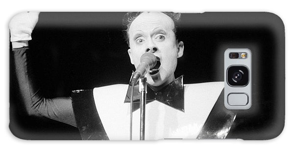 God Klaus Nomi Galaxy Case by Steven Macanka
