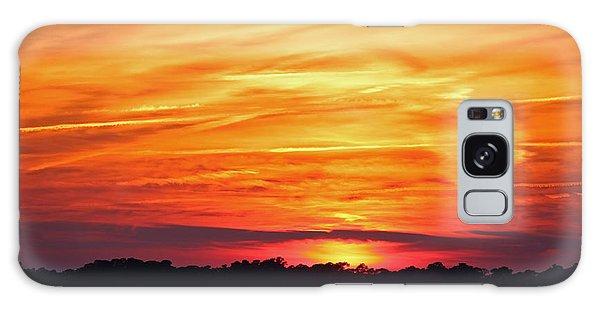 God Paints The Sky Galaxy Case