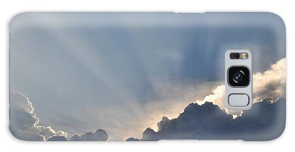 God Rays Galaxy Case