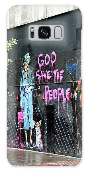 God Save The People Galaxy Case